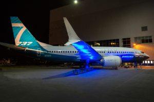Estreia o primeiro 737 MAX 7 da Boeing