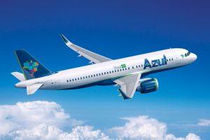 Azul estreia operação do A320neo entre Recife e Fortaleza