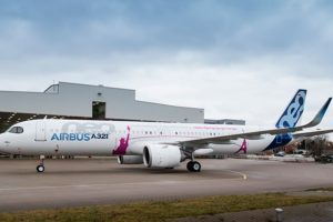 Airbus apresenta seu primeiro A321neo ACF