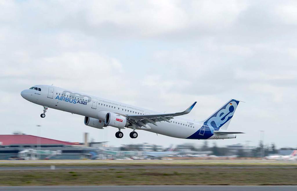 O A321neo com motores CFM LEAP-1A recebe a certificação de tipo