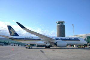 Singapore Airlines apresenta os primeiros voos com biocombustível do mundo