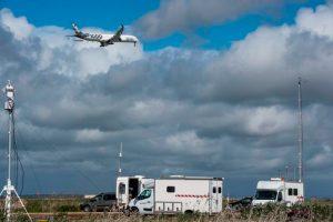A350-1000 realiza série de testes de ruído na Espanha