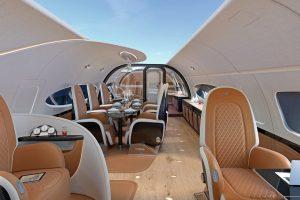 Airbus Corporate Jets e Pagani anunciam a cabine Infinito