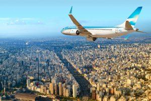 Aerolíneas ampliará oferta em 17% para Rio de Janeiro no verão