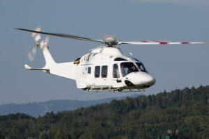 Helicóptero AW169 recebe homologação da FAA