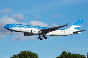 Aerolíneas Argentinas incorpora novo Airbus 330-200