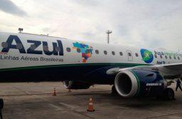Azul dobra número de operações entre Recife e Orlando