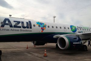 Azul amplia oferta de assentos em Sorriso com jatos Embraer