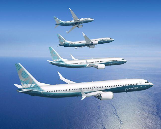 Boeing bate recorde de entregas em 2017