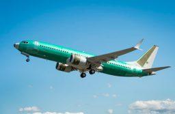 Boeing realiza voo do primeiro avião BBJ MAX