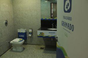 Fraldários do Aeroporto de Brasília recebem produtos da Granado