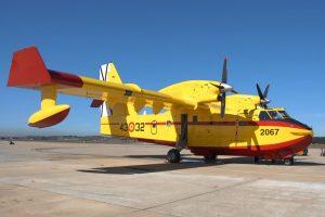 CL-415 do Exército do Ar espanhol.