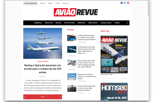 Avião Revue exclusivamente digital