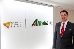 Alitalia nomeia novo Diretor Comercial para o Brasil