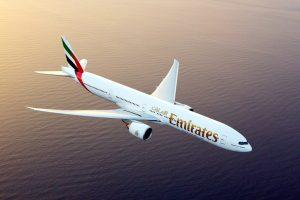 A Emirates fecha compromisso para a banda larga em voo GX Aviation da Inmarsat para a sua frota de aeronaves Boeing 777X