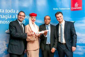 Emirates anuncia um acordo de partilha de códigos com a GOL