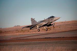 Saab oferece o caça Gripen E para a Suíça