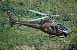 Exército do Equador recebe um helicóptero H125 da Airbus