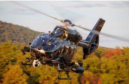 Airbus Helicopters conclui primeira campanha de tiro com o H145M equipado com HForce
