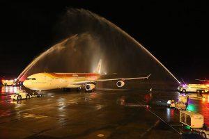 Iberia dá adeus aos Airbus A340-300 no Panamá