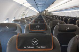 Internet de banda larga a bordo em voos de curta e média distância da Lufthansa