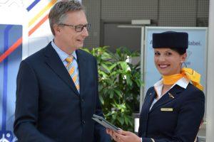 Lufthansa dá iPads à tripulação de cabina