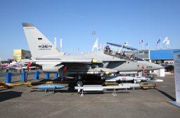 Leonardo apresenta o M-346FA (Fighter Attack) na Le Bourget