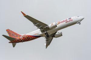 Boeing entrega o primeiro 737MAX para a Malindo Air