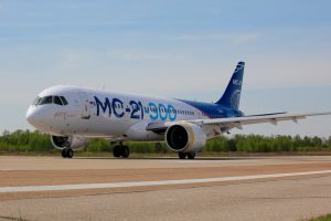 MC-21-300 realiza segundo voo