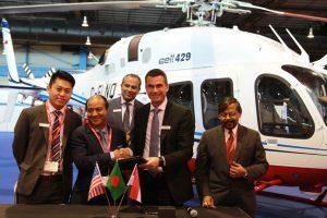 Meghna Aviation será a primeira operadora do Bell 429 em Bangladesh