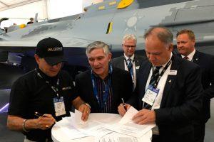 Saab conclui F-Air Colombia 2017 com sucesso