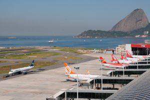 Azul retoma todas as suas operações no Santos Dumont (RJ)