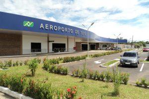 Aeroporto de Tefé registra alta na movimentação nos primeiros meses do ano