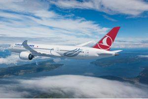 Boeing e Turkish Airlines assinam pedido de até 30 aviões 787 Dreamliner
