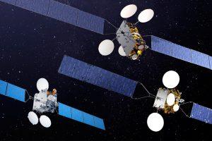 Os satélites da Thales Alenia Space irrompem no Porto Espacial Europeu