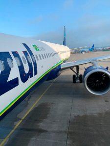 A321neo, Azul