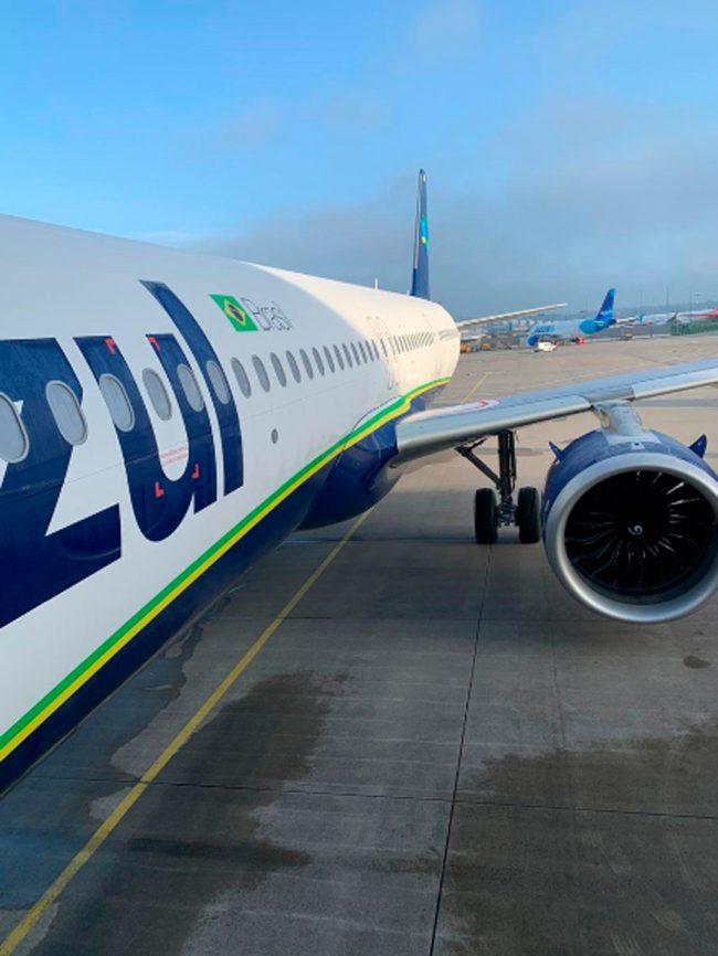 A321neo de Azul