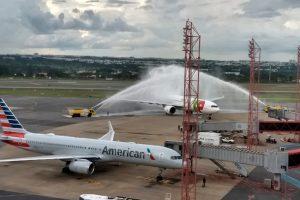 A capital federal é a quarta cidade do mundo a receber um voo do Airbus A330-900neo