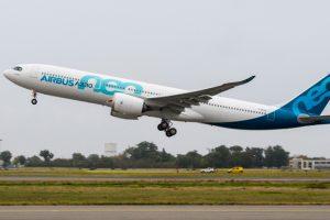Primeiro A330neo conclui com sucesso o seu voo inaugural