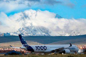 "A350-100 realiza campanha de testes de voo de ""altitude e calor"" na América Latina"