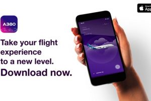 Airbus lança o aplicativo de realidade aumentada iflyA380 para iOS