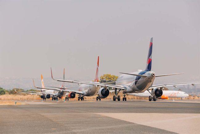 Aeroporto de Brasília registra em setembro a maior movimentação de passageiros desde o início da pandemia