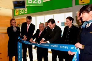 Air Europa inaugura rota para Recife
