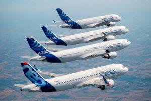 Airbus prevê que a frota mundial de aviões de passageiros duplicará nos próximos 20 anos