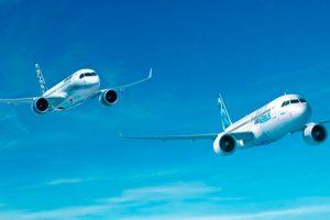 Airbus e Bombardier anunciam parceria para a C Series