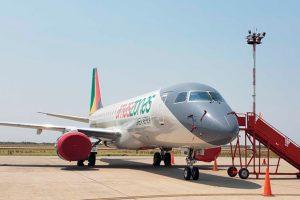 Amaszonas é a nova integrante da família de operadores de E-Jets, da Embraer