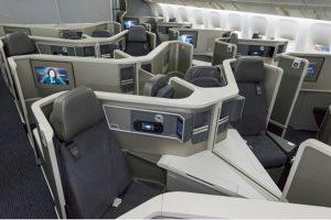 American Airlines concui modrnização das cabines dos Boeings 777-200
