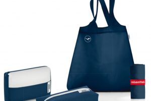 Bolsas de conforto da Lufthansa sobressaem graças ao design e à sustentabilidade