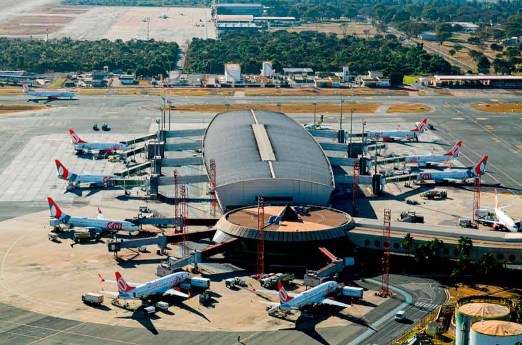 Brasilia, hub, GOL