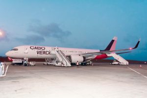 Cabo Verde Airlines recebe segundo avião com o nome 'Baía de Tarrafal'